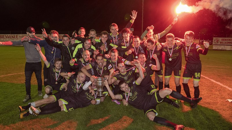 Le FC Bramois a rallumé la flamme en finale de la coupe valaisanne