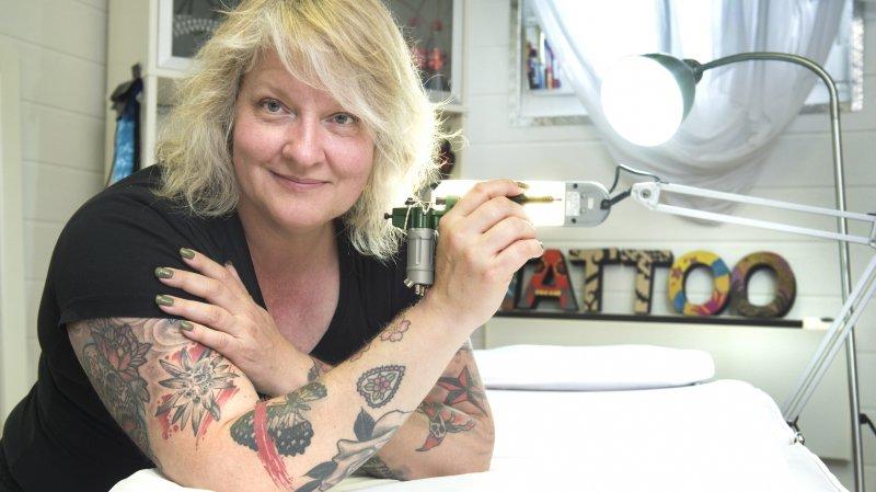 Alchemy Tattoo Expo: Monique Roh, la Britannique de Vétroz, pionnière du tattoo en Valais