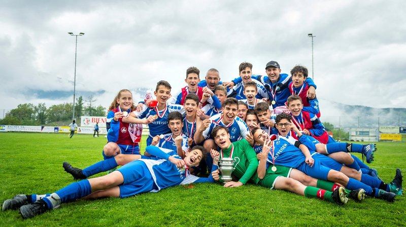 C promotion - Champion valaisan 2017-2018