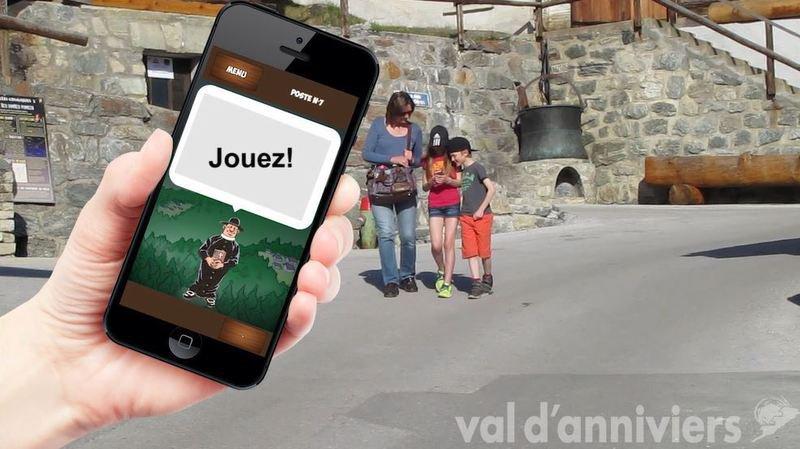 Le jeu est à télécharger sur son téléphone portable.