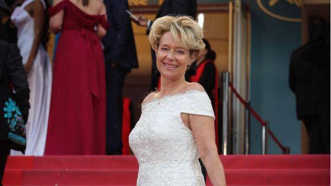 Festival de Cannes: la Fuilléraine Bernadette Roduit est montée sur le tapis rouge lundi soir