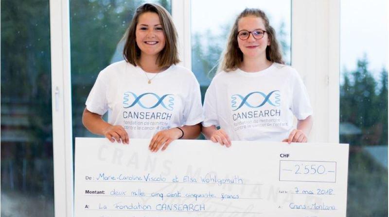 Deux ados valaisannes lancent un jeu et combattent le cancer de l'enfant
