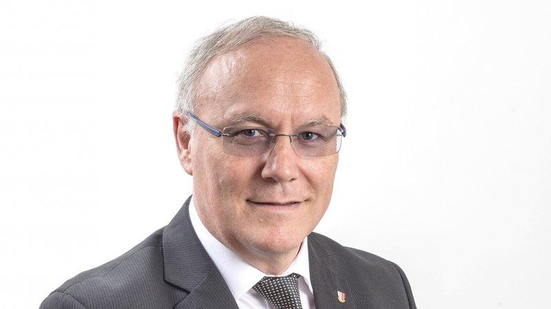 Gilles Martin accède à la première vice-présidence du Grand Conseil.
