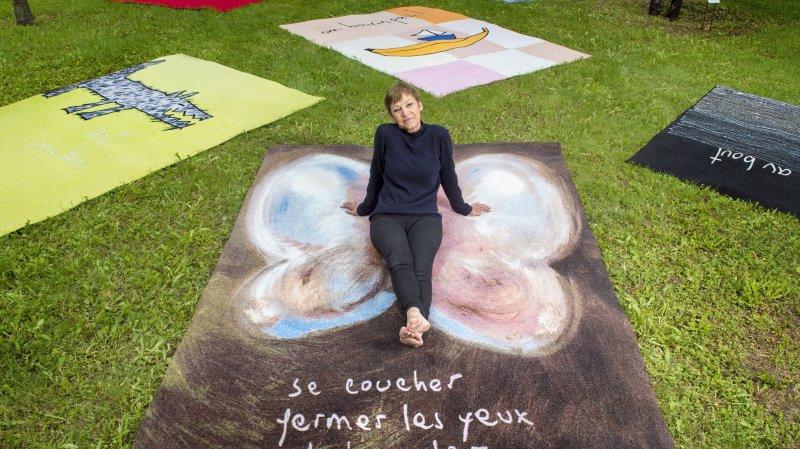 Marie-Antoinette Gorret met l'art à vos pieds à la Fondation Gianadda