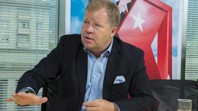 Pierre-Alain Grichting à la tête de la BCVs: «Je ne suis pas un président par intérim»