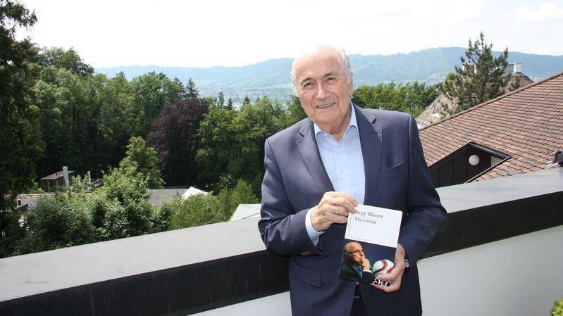 Sepp Blatter publie «Ma vérité», un livre sur les événements qui ont secoué la FIFA