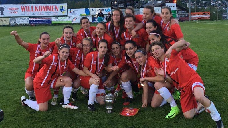 Le FC Sion remporte la coupe valaisanne féminine