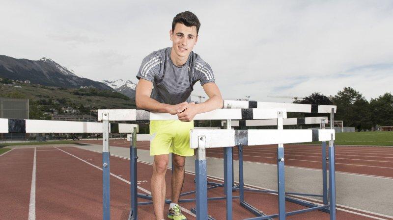 Julien Bonvin bat le record valaisan et s'offre un billet pour les Mondiaux juniors