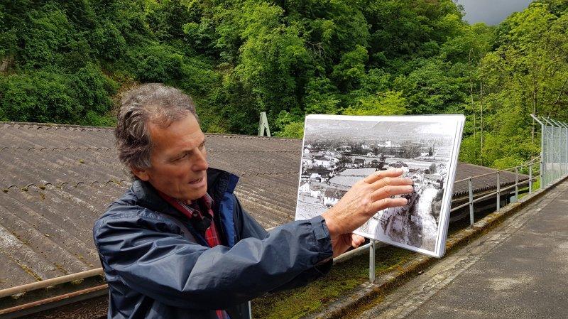 Photos à l'appui, Armand Favre raconte le Monthey industriel du XIXe siècle.