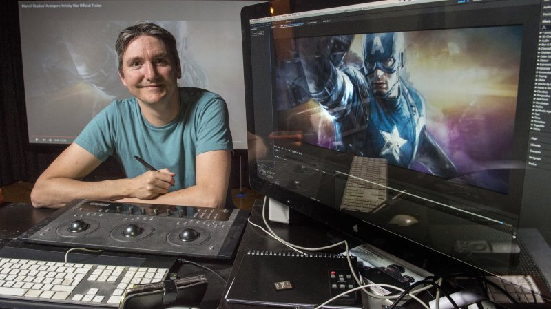 """Le Sédunois Nicolas Elsig a travaillé au succès des """"Avengers"""""""
