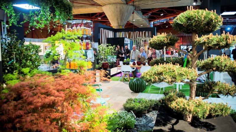 Le salon des tendances printanières Prim'Vert se déroule cette semaine au Cerm à Martigny.