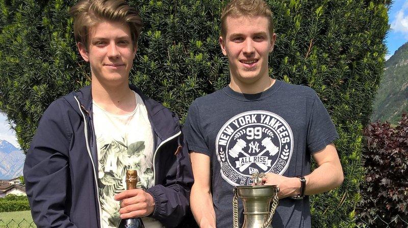 Ludovic Zaza bat son frère Alexandre et remporte la Coupe valaisanne d'échecs