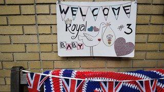 Grande-Bretagne: le troisième enfant de Kate et William est né et c'est un garçon