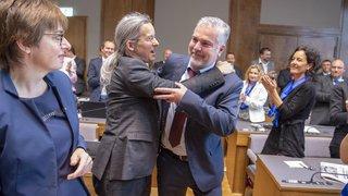 Grand Conseil: l'interview tac au tac d'Olivier Turin, élu 2e vice-président