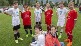 Credit Suisse Cup: la passion du foot d'un bout à l'autre du canton
