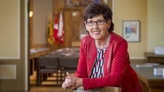 Grand Conseil: Anne-Marie Sauthier-Luyet, la grande dame qui a osé être présidente à la place des présidents