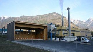 Le chauffage à distance de Martigny sera bientôt doté d'une deuxième chaudière à bois