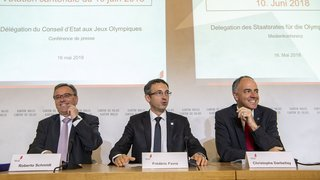 Sion 2026: le Conseil d'Etat recadre le débat sur les Jeux olympiques