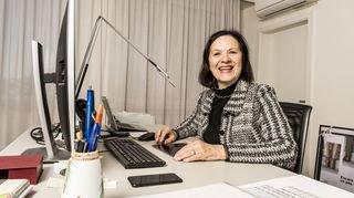 Grand Conseil: présidente du gouvernement, Esther Waeber-Kalbermatten commente cette constellation féminine exceptionnelle