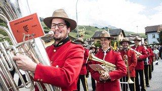 Vétroz: le festival de la fédération des fanfares démocrates-chrétiennes du centre en images