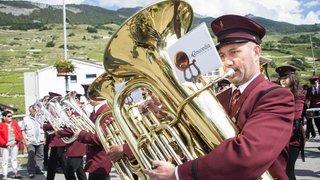 Vétroz: la musique à l'honneur lors du 103e festival des fanfares démocrates-chrétiennes du centre