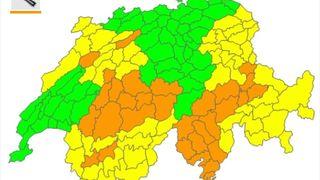 Météo: danger d'incendie marqué en Suisse