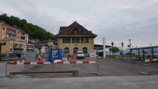 Le Bouveret: places de parc réduites durant l'été à cause des travaux de la gare