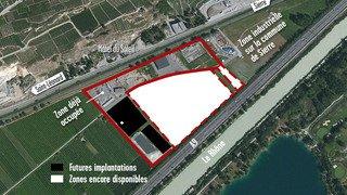 St-Léonard: la zone industrielle de Mangold se développe lentement mais sûrement
