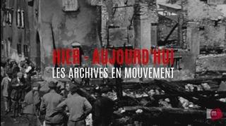HIER-AUJOURDHUI 19 l'incendie d'Orsieres en 1935
