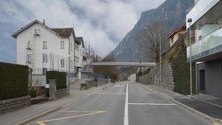 Le Bouveret: la passerelle reliant le bas et le haut du village bientôt posée