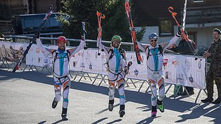 PDG 2018: arrivée de la première course à Verbier