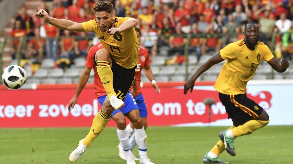 La Belgique de Mertens et Lukaku fait partie des favoris pour le titre de champion du monde.