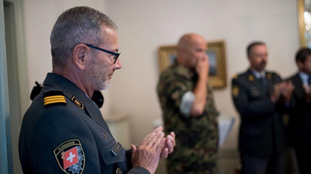 Le colonel Daniel Jolliet succédera à Max Contesse en date du 1er juillet 2018.