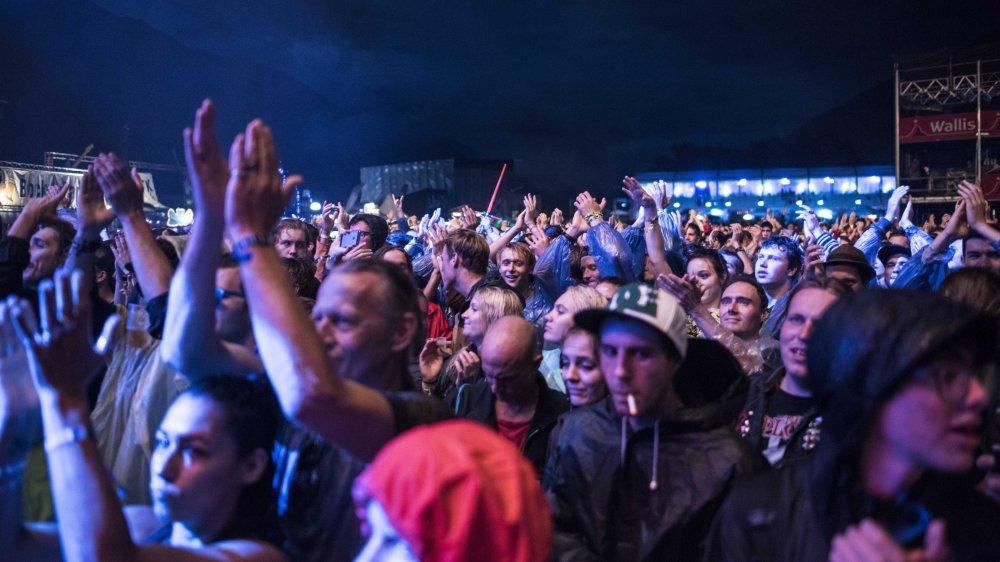 le Gampel reste le festival le plus important en terme de visiteurs.