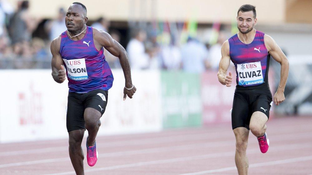 Florian Clivaz doit courir en 10''35 pour décrocher son billet européen sur 100 m.