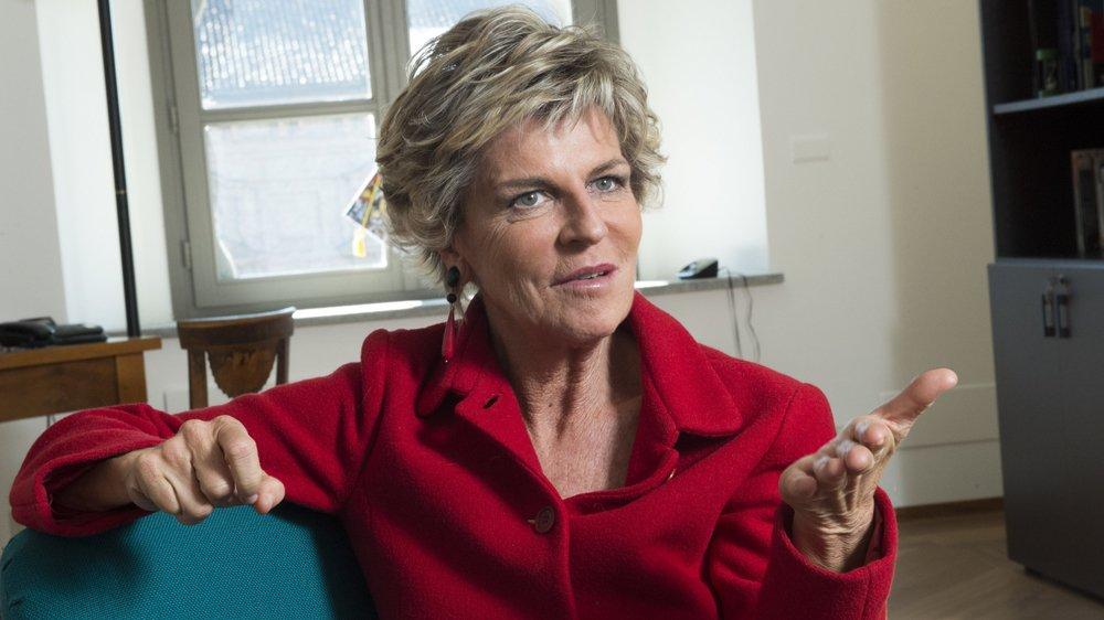 Evelina Christillin, coprésidente du comité d'organisation des jeux de Torino 2006 est aujourd'hui une spectatrice avertie de la double candidature sédunoise et turinoise.