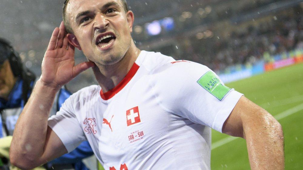 Xherdan Shaqiri a libéré la Suisse à la 90e minute.