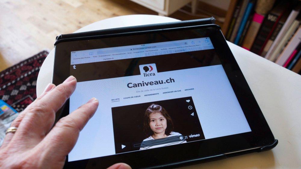 La Licra a lancé son site de dénonciations, caniveau.ch, en octobre2017. Elle se heurte aujourd'hui à la légalité du «name and shame».