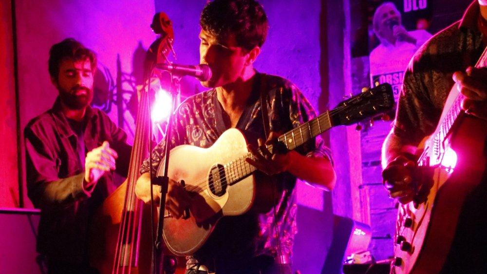 Les Coconut Kings, du garage blues dans l'une des granges d'Orsières.