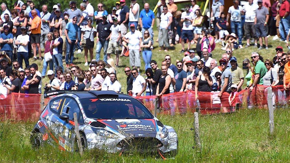Joël Rappaz a su gérer sa course pour obtenir son meilleur résultat depuis ses début en rallye.