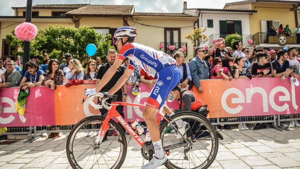 Sébastien Reichenbach n'éprouve pas la moindre frustration d'avoir dû attendre, en vain, Thibaut Pinot lors de l'avant-dernière étape.