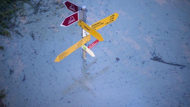 De fortes pluies ont touché les cantons de Zurich et d'Argovie. (illustration)