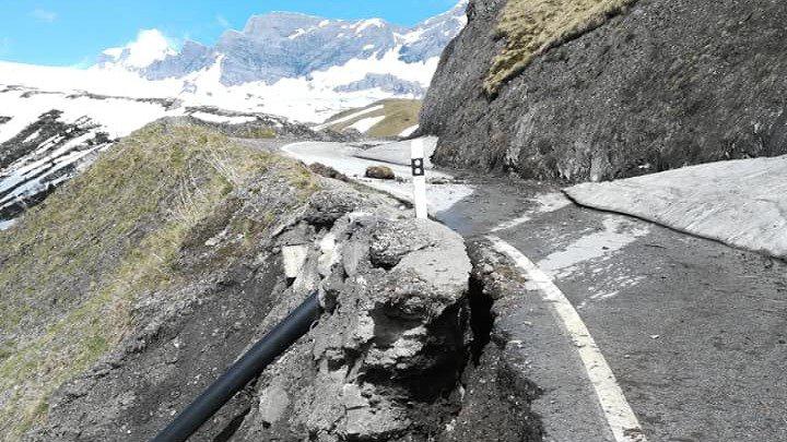 Valais: les travaux seront longs après l'hiver