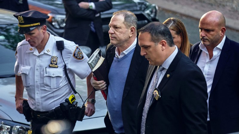 Harcèlement: Harvey Weinstein officiellement inculpé de viol et d'agression sexuelle