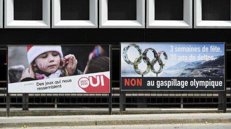 Le Valais dit non à Sion 2026 à 54%