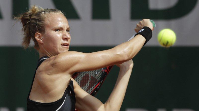 Viktorija Golubic s'est inclinée 6-4 6-4 devant l'Américaine Caroline Dolehide (WTA 126), issue comme elle des qualifications.