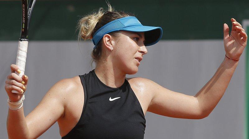 Tennis - Roland-Garros: c'est fini pour Belinda Bencic
