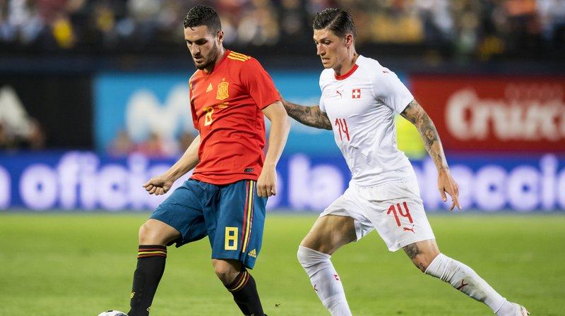 Préparation à la Coupe du Monde 2018: la Suisse arrache un match nul face à l'Espagne 1-1