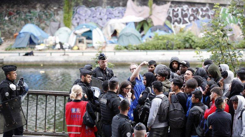Il s'agit de la 35e évacuation organisée à Paris depuis la constitution des premiers campements en juin 2015.