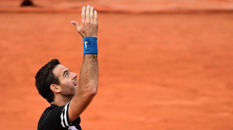 Tennis - Roland-Garros: Del Potro en quarts pour la première fois depuis 2012